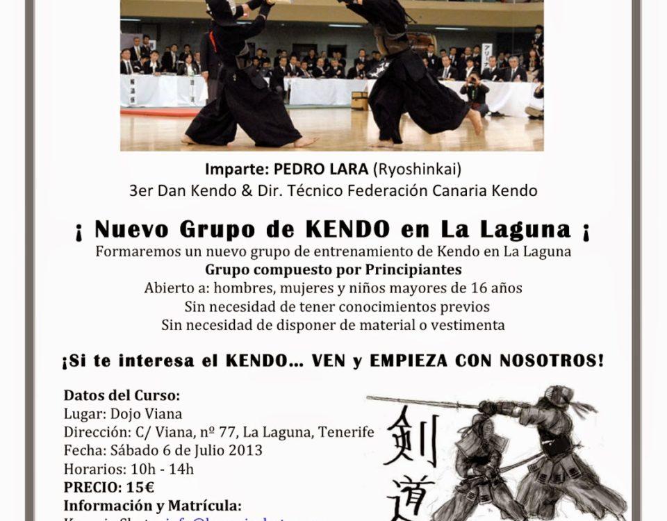 Cartel-Curso-KENDO-Kanaria-Shoto-Junio-2013